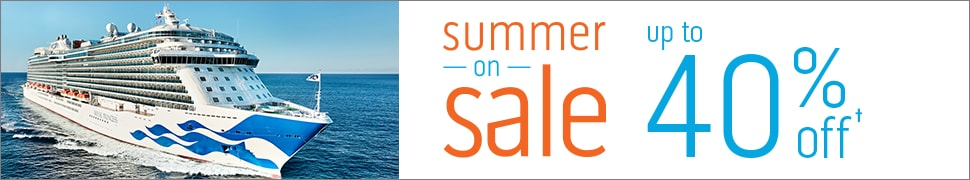 Summer on Sale landing page header