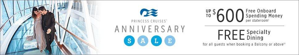 Princess Anniversary Sale